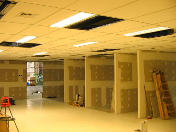 Cielorraso desmontable con placas de yeso DURLOCK