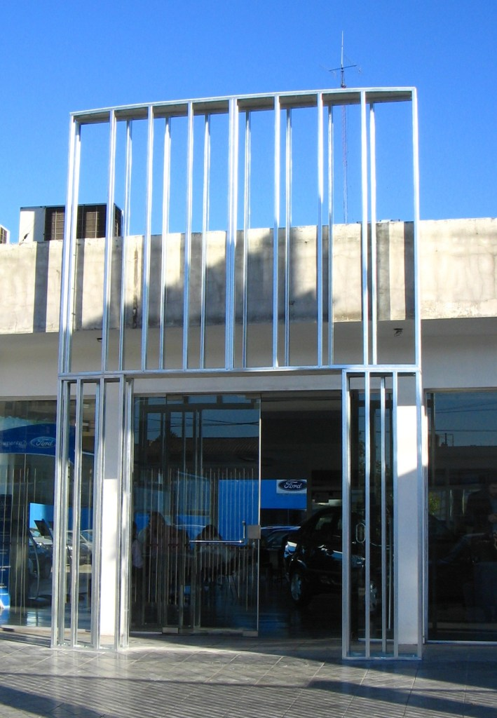 estructura de perfiles para fachada construccion en seco