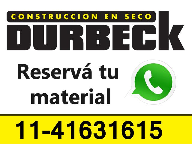 material durbeck whatsapp durlock construccion en seco