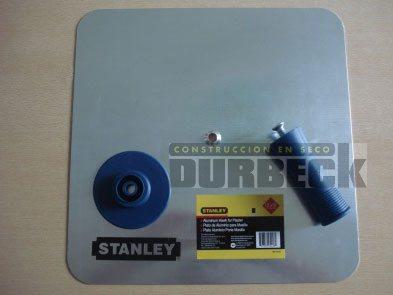 Herramienta Plato yesero STANLEY aluminio 33×33 cm 95-418 Durbeck-Durlock-construccion-en-seco52