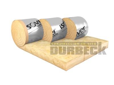 ISOVER Lana Vidrio Plata Muro 70 mm 0,40 x 10m (12 m²) Durbeck-Durlock-construccion-en-seco72