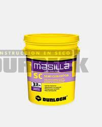Masilla Durlock Semi cubiertos (SC) x 18-32 kg Durbeck-Durlock-construccion-en-seco95