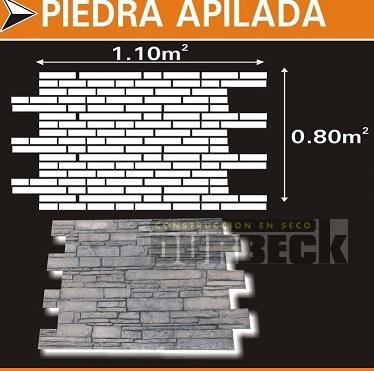PIEDRA APILADA SIMIL PIEDRA x m2 – poliuretano Durbeck-Durlock-construccion-en-seco126