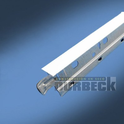 Perfil Larguero T 1 x 3.66 blanco (26mm) TX LP (32mm) Durbeck-Durlock-construccion-en-seco117