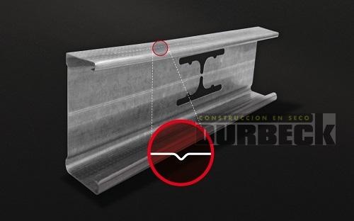 Perfil Montante 99 x 0,5mm x 2,6m Durbeck-Durlock-construccion-en-seco118