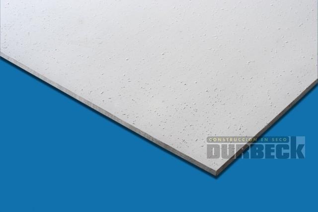 Placa Desmontable Durlock Texturada clas. 0,61×1,22m esp. 6,4mm Durbeck-Durlock-construccion-en-seco130
