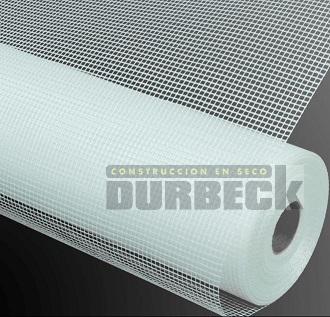Revestimiento Rollo Malla fibra vidrio 1 x 50 mts 90,110 gr-m2 Durbeck-Durlock-construccion-en-seco150