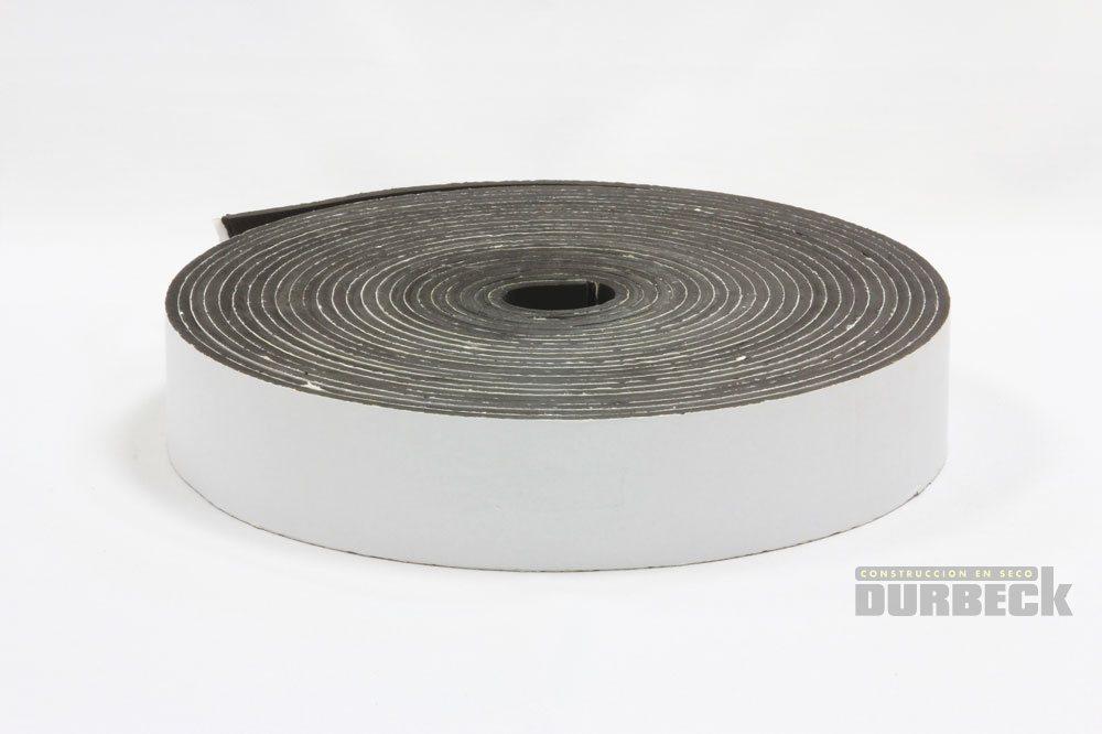 Rollo Banda ACUSTICA Transparente x 10 mts x 70mm Durbeck-Durlock-construccion-en-seco152