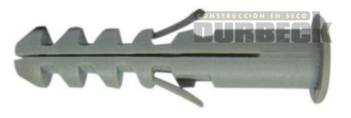 Tarugos Comunes 6-8mm con tope Durbeck-Durlock-construccion-en-seco164