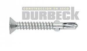 Tornillo T2 cementicia alas 8 X 1 1-4 Z Durbeck-Durlock-construccion-en-seco177