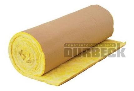 lana-de-vidrio-inrots-75mm-papel-kraft- Durbeck-Durlock-construccion-en-seco85
