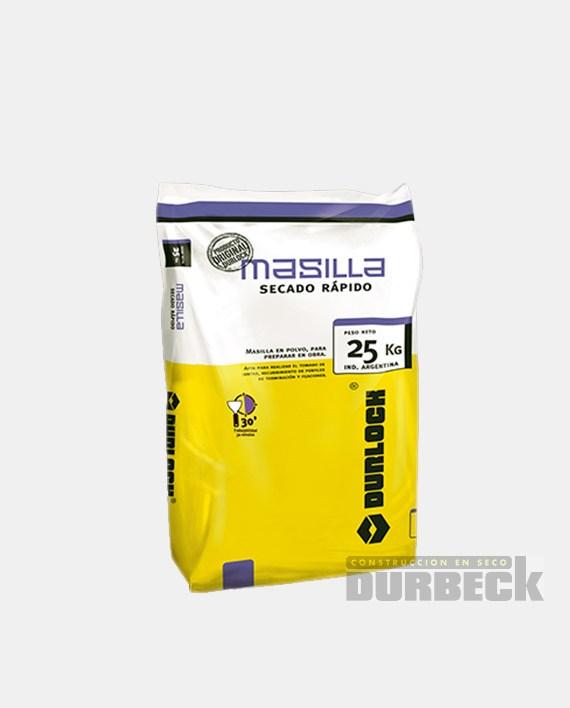 masilla-secado-rapido 25kg Durbeck-Durlock-construccion-en-seco100