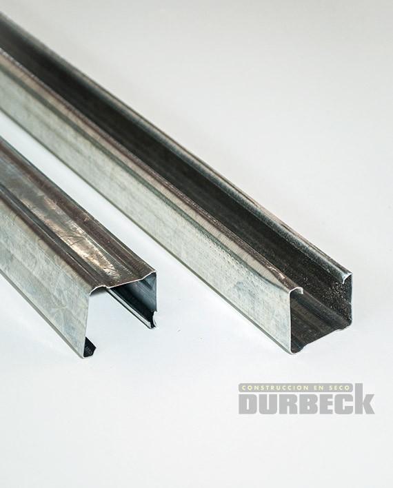 montante 34mm chapa 0.5mm 2.6m largo – Durbeck-Durlock-construccion en seco
