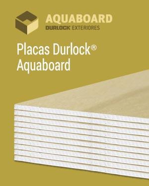 placa exterior aquaboard durlock 1,2m x 2,4m-Durbeck-Durlock-construccion-en-seco
