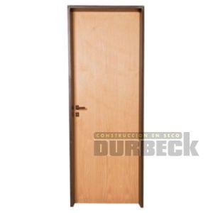 puerta placa interior cedro premium 60,70, 80, 90cm x 2m extraplack chapa 18 Durbeck-Durlock-construccion-en-seco143